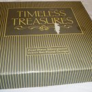 BRAND NEW TIMELESS TREASURES SET OF 4 SILVERPLATED EMBOSSED TRIVETS
