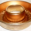 VINTAGE MIRRO ALUMINUM COPPER SET OF 2 BUNDT BAKE CAKE JELLO FORM MOLD WALL