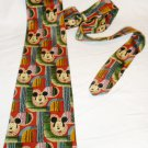 COLORFUL CHEERFUL DISNEY MICKEY MOUSE TIE