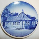 ROYAL COPENHAGEN PORCELAIN K.C.ANDERSEN'  HOUSE COLLECTIBLE MINIATURE PLATE