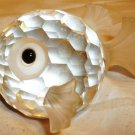 CHARMING SWAROWSKI CRYSTAL CLEAR GLASS FACETED PUFFER PUFF FISH SMALL FIGURINE