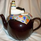 BEAUTIFUL FIGURAL CARDEW DESIGNS ENGLAND TEAPOT BROWN BETTY CAT GOT THE CREAM