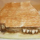 MINIATURE TRINKET BOX VILLAGE COLLECTION ENGLAND SMALL COTTAGE W/WOOD MADE IN UK