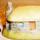 MINIATURE TRINKET BOX VILLAGE COLLECTION ENGLAND COTTAGE YELLOW ROOF MADE IN UK