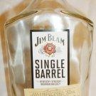 JIM BEAM SINGLE BARREL WHISKY EMPTY BOTTLE