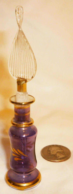 ART STUDIO GLASS MINIATURE PERFUME BOTTLE