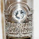 COLLECTIBLE EMPTY BOTTLE PLATINUM RUSSIAN STANDARD VODKA