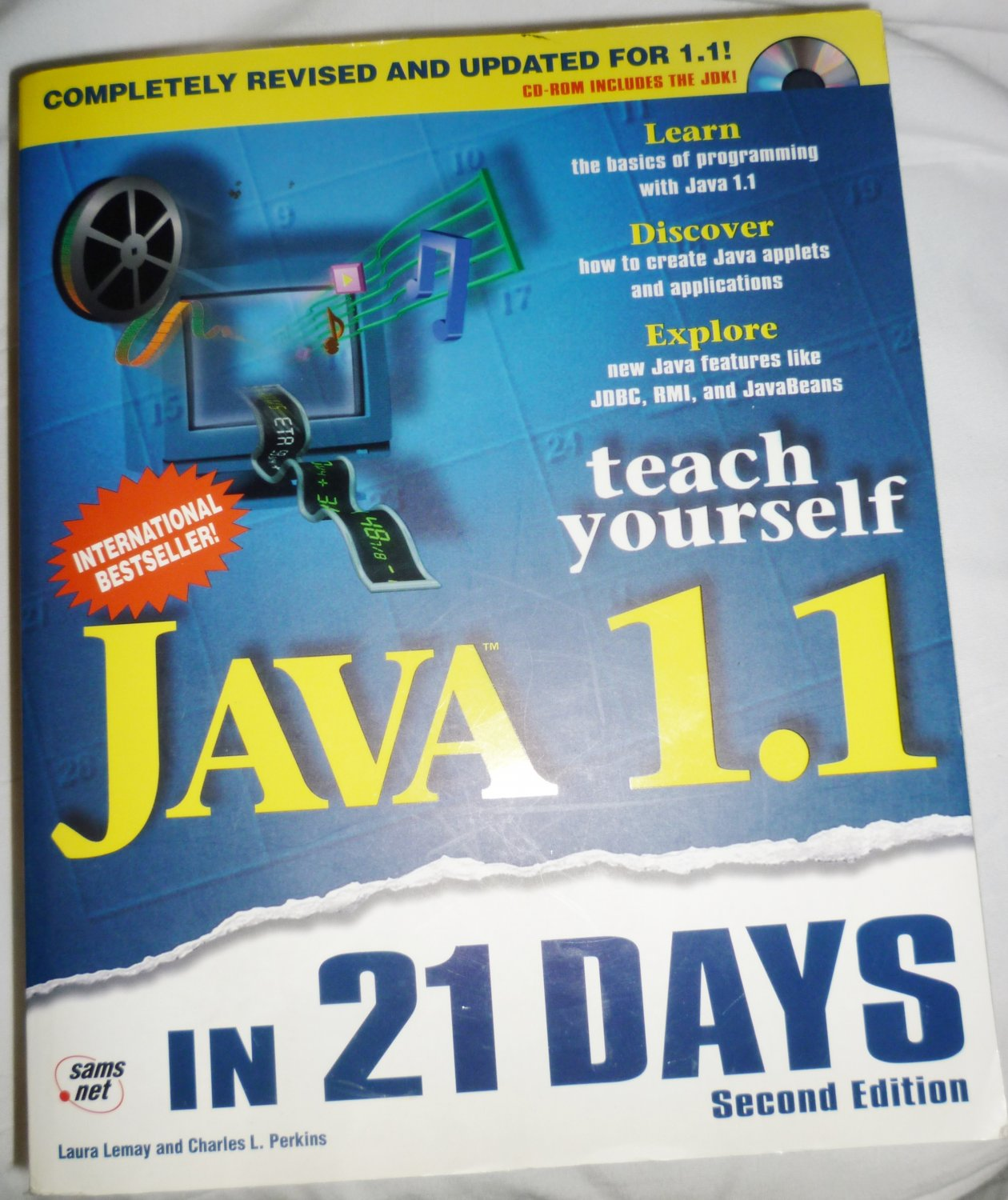 JAVA 1.1 IN 21 DAYS TEACH YOURSELF SECOND EDITION missing CD SECOND EDITION