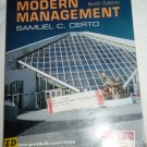 MODERN MANAGEMENT NINTH EDITION BY SAMUEL C. CERTO