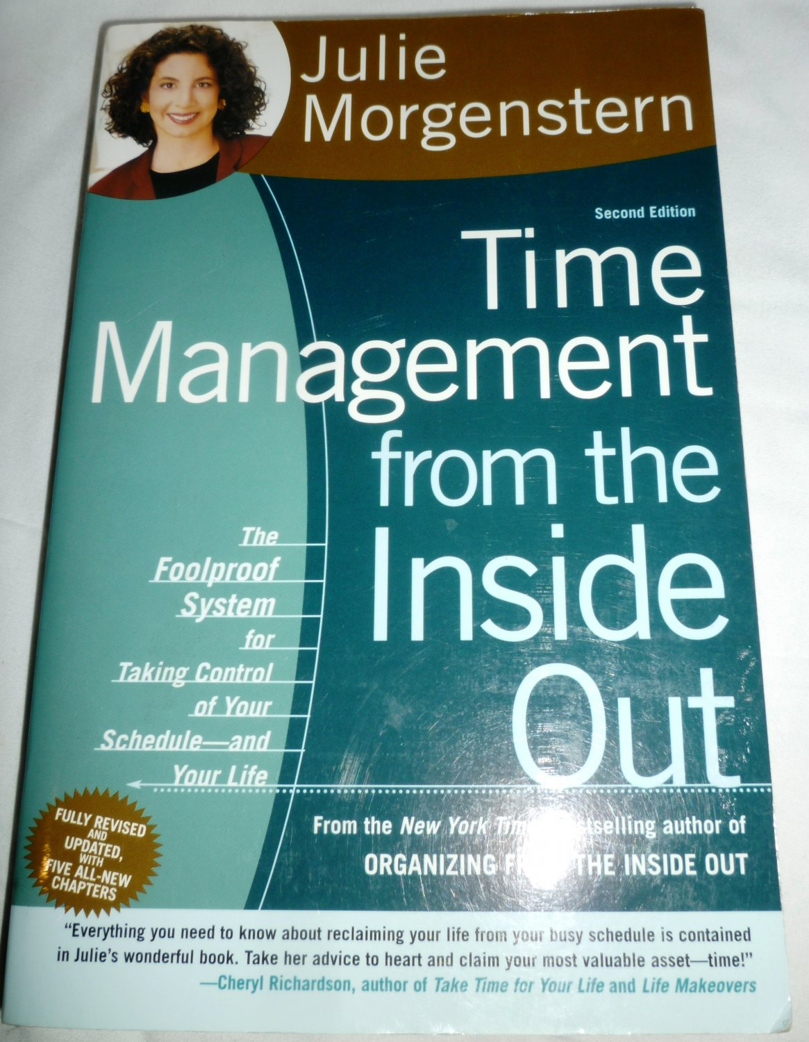 TIME MANAGEMENT FROM THE INSIDE OUT BY JULIA MORGENSTERN