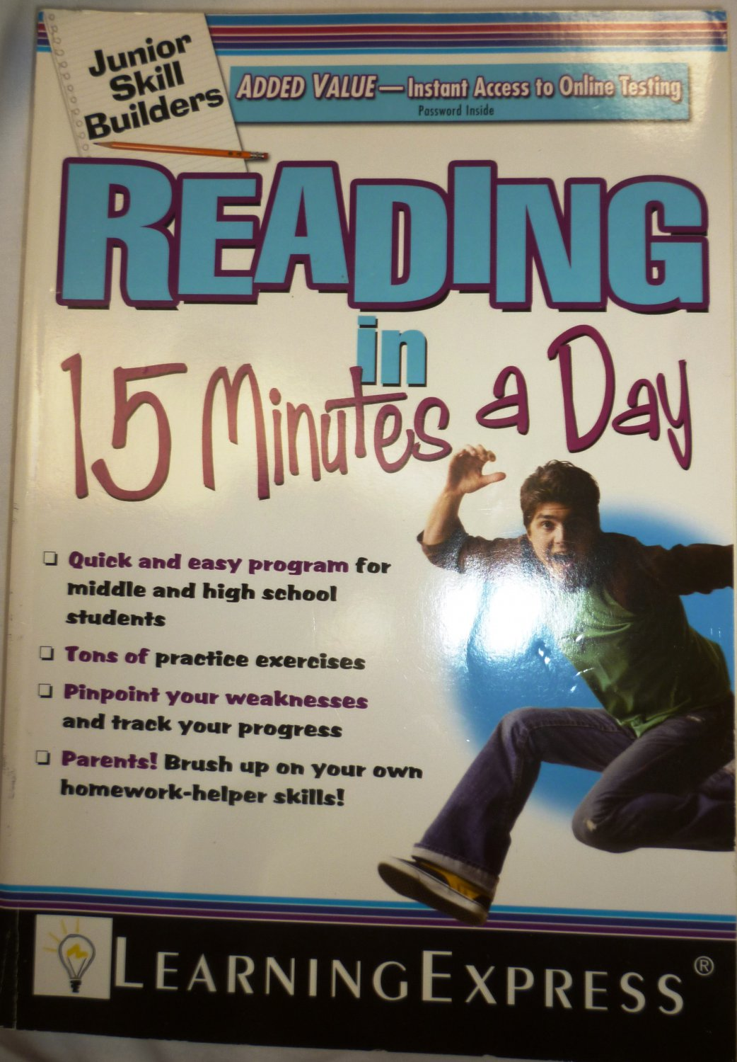 JUNIOR SKILL BUILDERS: READING IN 15 MINUTES A DAY LEARNING EXPRESS