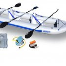 Sea Eagle 465FT 15ft Inflatable 3 Person Kayak Deluxe Incl Paddles (FREE SHIPPING)