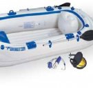 Sea Eagle SE9 11ft inflatable boat includes oars, seats and foot pump (FREE SHIPPING)