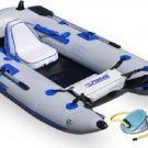 Sea Eagle 285 inflatable 9ft. Pontoon Boat includes oars and pump (FREE SHIPPING)