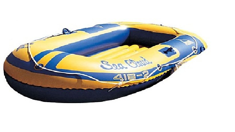 Stansport Sea Cloud 2-Person Boat, Blu/Yel (FREE SHIPPING)