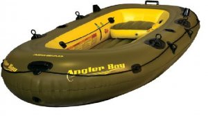AIRHEAD ANGLER BAY Inflatable Boat 4 Person (FREE SHIPPING)