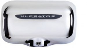 Xlerator Hand Dryer Model XL-C  (FREE SHIPPING) CHROME PLATED COVER