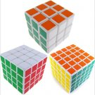 3x3x3 4x4x4 5x5x5 Smooth Rubick Rubix Magic Cube Puzzle Competitive Fance Game Toy