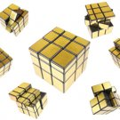 Hot 3x3x3 Golden Rubick Rubix Magic Cube Puzzle Game Intelligence Toys