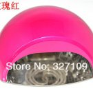 DHL Free shipping Rose 12W CCFL LED UV Gel Nail Art Lamp Portable Nail Dryer Curing Home/Salon