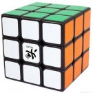Black ABS Dayan V 5 ZhanChi 3x3x3 Speed Puzzle Magic Cube with PVC Stickers New