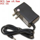 Universal 2.5mm US Power Adapter AC Charger 5V 2A for Android Tablet PC