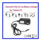 5V 2A AC Adaptor Adapter Power Supply wall Charger For Disgo Disco 9104 Personal Android Tablet PC