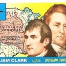 William Clark - Explorer - 2009 Topps Heritage Card # 12