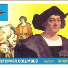 Christopher Columbus - Explorer 2009 Topps Heritage Card # 20