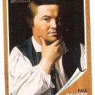 Paul Revere - Revolutionary Hero 2009 Topps Heritage Card # 33