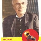 Thomas Edison - Inventor 2009 Topps Heritage Card # 41