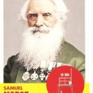 Samuel Morse - Inventor 2009 Topps Heritage Card # 45