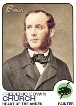Frederic Edwin Church - Painter 2009 Topps Heritage Card # 70