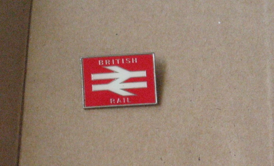 VINTAGE Pin British Rail Lapel Hat Pin Pinback