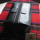 NEW Admiral DOPP KIT Jordan Two3 Leather Travel Case Shaving Kit Toiletries Collectible