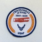 PATCH Badge USAF Centennial Of Flight 1903-2003 Military US Air Force AVGEEK