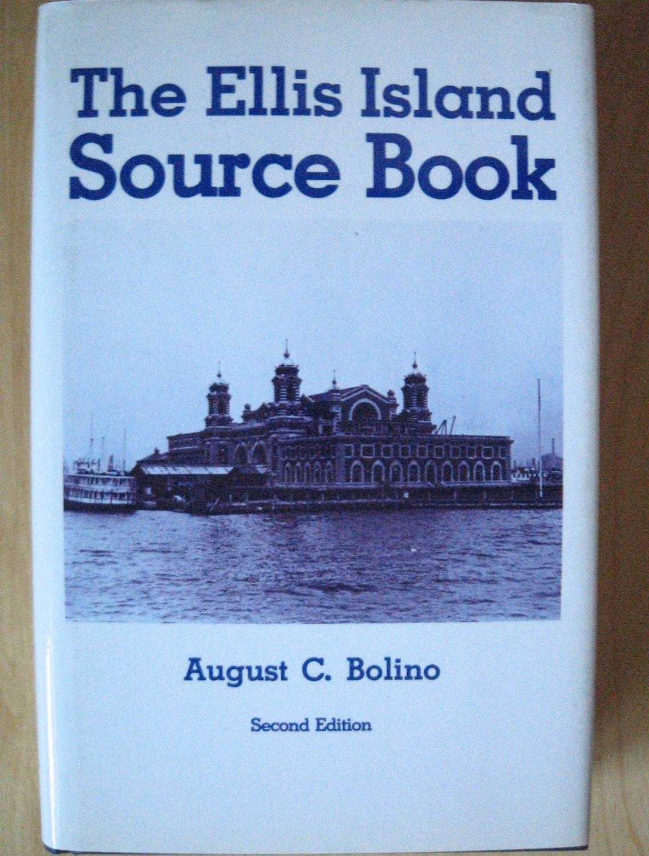 BOOK The Ellis Island Source Book HARD COVER Genealogy