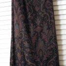 Vintage 90s Breeches Estate Faux Wrap Skirt Long Equestrian Look