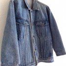 Authentic Vintage Oversize Denim Jacket Totally Unique Street Style