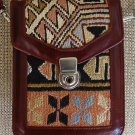 NEW KILIM OOAK Bag Over Shoulder Purse Convertible Travel Organizer Authentic Anatolian Kilim Art