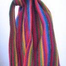 Guatemalan Woven Fabric Wine Bag Holder Picnic Bottle Bag Handmade