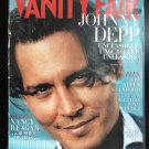 Vanity Fair Magazine July 2009 Johnny Depp Uncensored Unscripted Obama vs Media Nancy Reagan Madoff