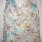 Anthropologie Top Floral Halter