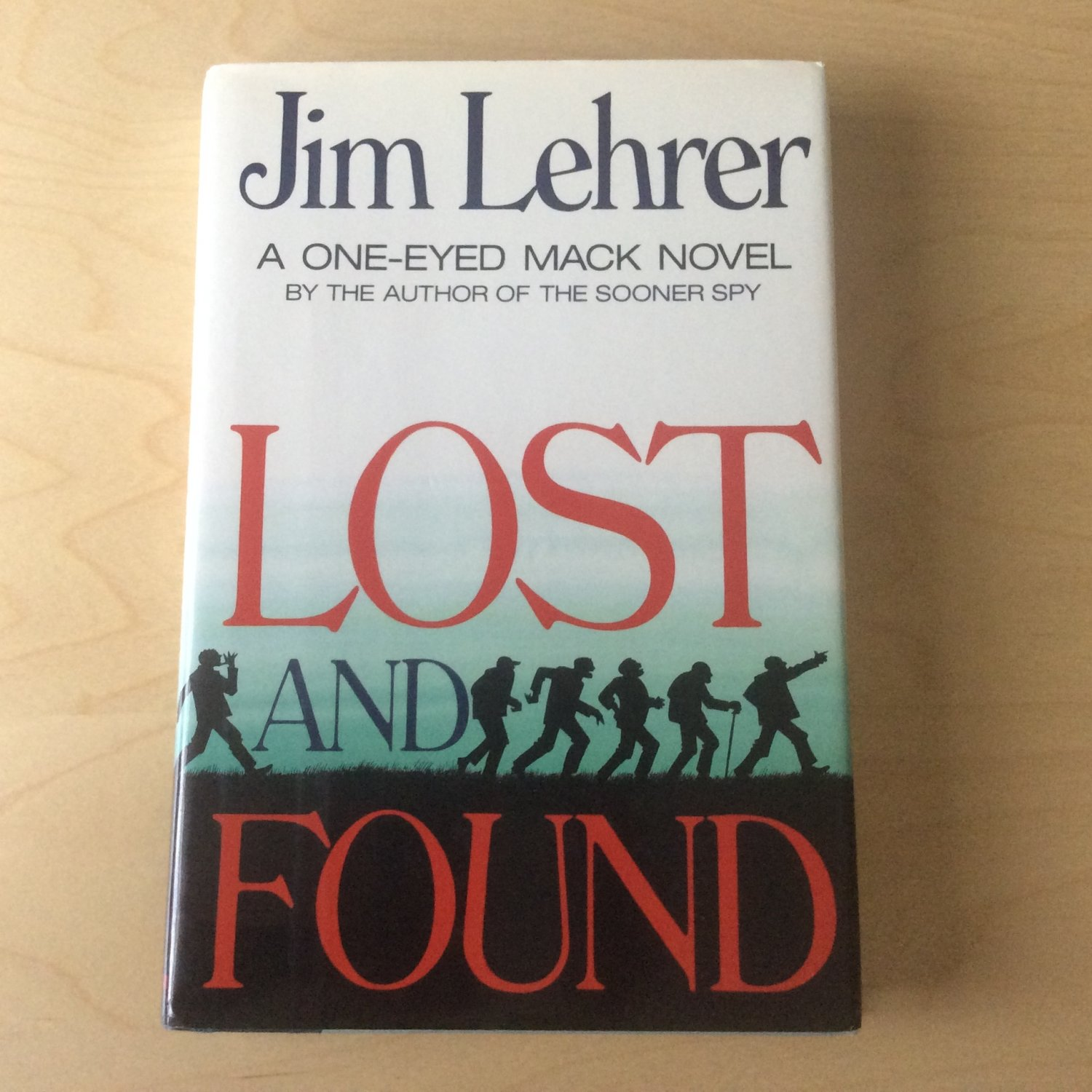 BOOK Lost and Found by Jim Lehrer 1991 HC Dust Jacket 1st printing