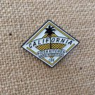 Vintage California Pizza Kitchen Employee or VIP Hat Lapel Apron Pin RARE