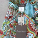 NEW Tommy Bahama Tropical Paisley Floral Print Shift Dress Sundress