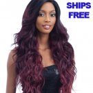 Freetress Equal Synthetic Premium Delux V Shaped Lace Front Wig - V 002 - OP430
