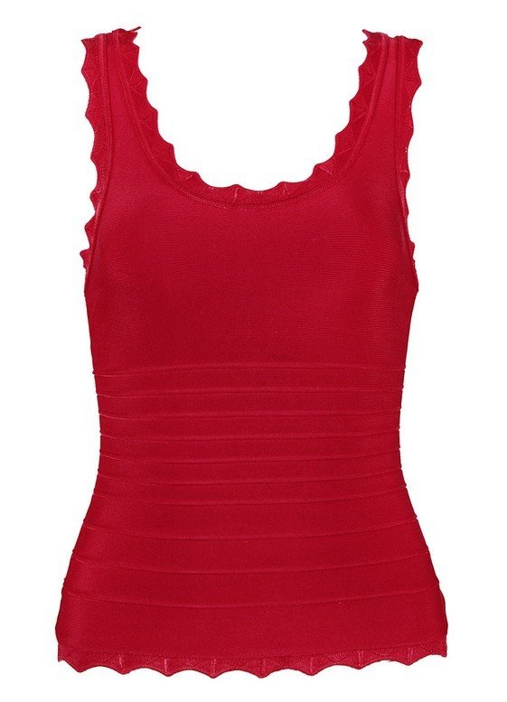Cloverl Sally Bandage Vest Free Global Shipping