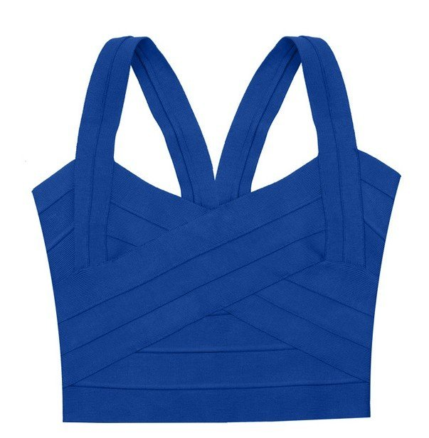 Cloverl Cecilia Bandage Vest 4 Colors  Free Global Shipping