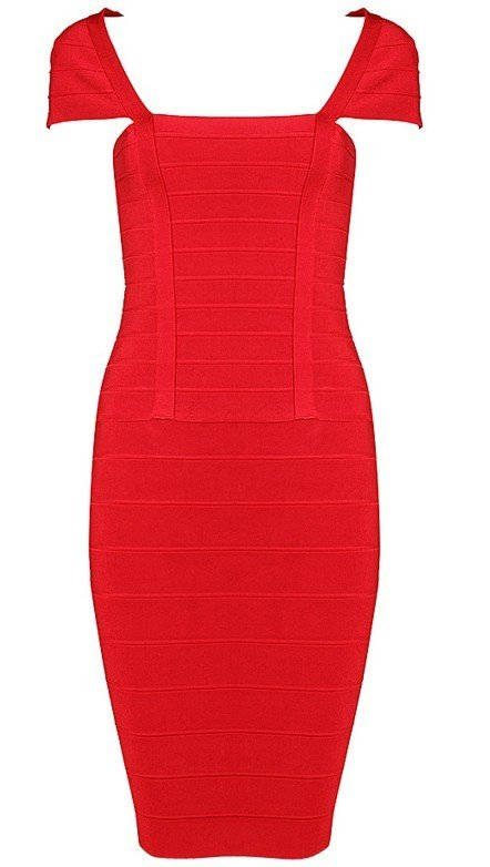 Cloverl Adele Bodycon Bandage Dress Two colors